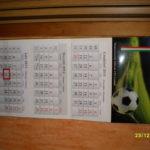 Indywidualne kalendarze trójdzielne